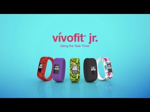 vívofit jr.: Using the Task Timer