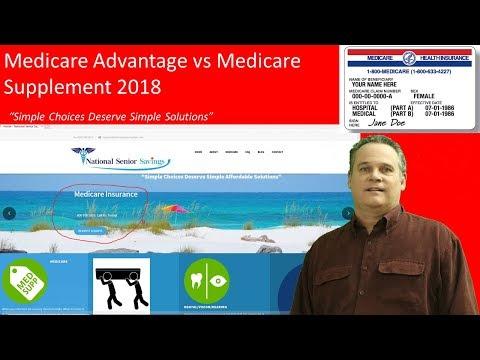 How to Find the Best Medicare Plan; Medicare Advantage vs Medicare Supplement 2018