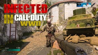 INFECTED gameplay in Call of Duty WWII..