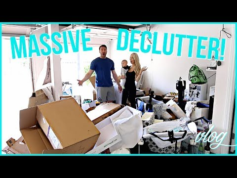 MASSIVE HOME DECLUTTER! CLEAN WITH ME!