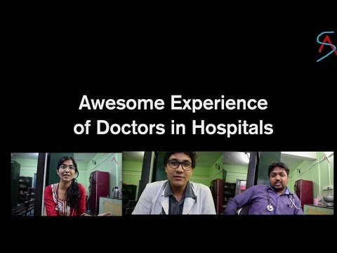 Awesome Experience of Doctors with the Patients in hospitals - Funny sketch by Doctors