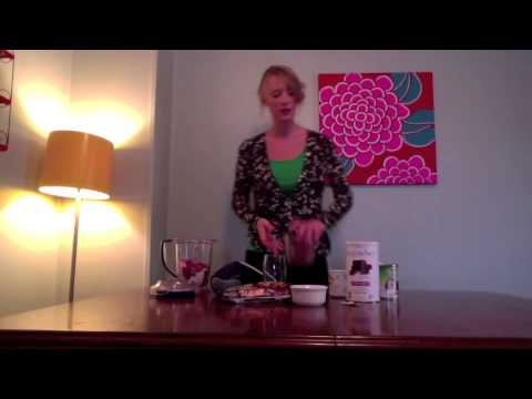 Raspberry Chocolate Shake from Home Cures That Work for Obesity