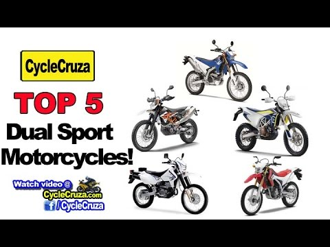 Top 5 Dual Sport Motorcycles (Lightweight & Low Maintenance) | MotoVlog