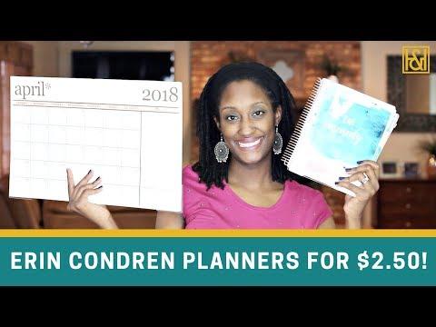 Erin Condren Planners for as low as $2.50! (My Favorite Erin Condren Sale is Back!)