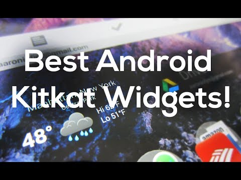 Best Android Kitkat Widgets!
