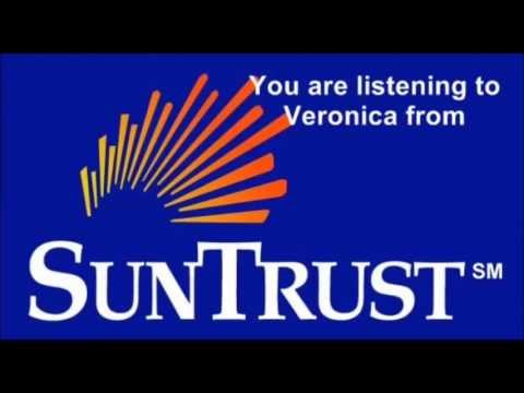 Suntrust Bank Debit Card Fraud - Voice Message From Veronica (Name Censored)