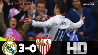 Resumen Real Madrid vs Sevilla (3-0) Copa del Rey