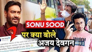 Ajay Devgn PRAISES Sonu Sood's Work For Migrants; Here's What He Said