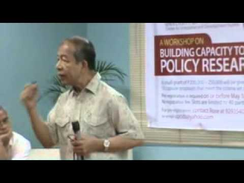 Policy Research Workshop: Writing and Publishing Policy Papers by Dr.Temy Rivera
