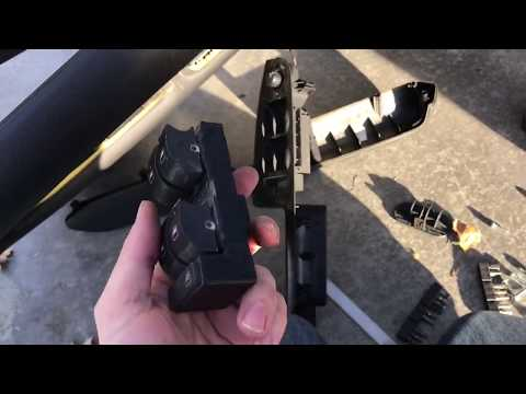 How to replace window switch b6 b7 Audi A4