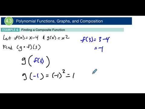 4.3 Example 6 Finding a Composite Function