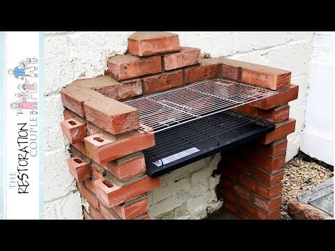 Quick Brick BBQ Build