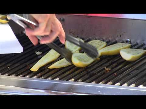 How to Barbecue Yellow Squash : In the Kitchen