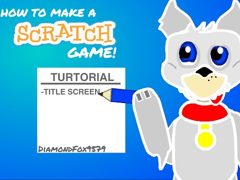 How to make a FNAF Scratch Game | Vector | Title Screen