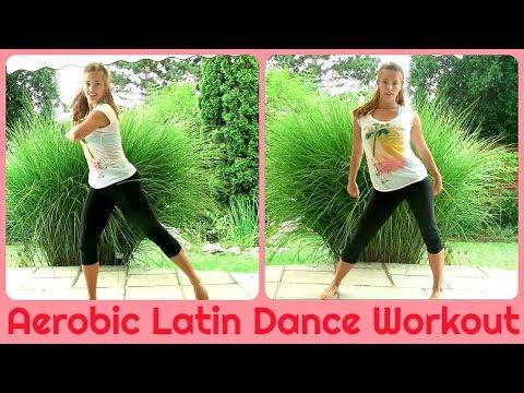 Aerobic Latin Dance Workout (20min of Fatburning Cardio)