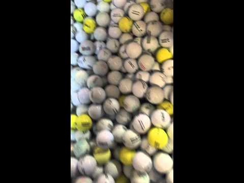 SO MANY GOLFBALLS! (First Video!)