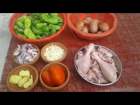 Aloo Gosht Desi and simple recipe My Village Food Secrets