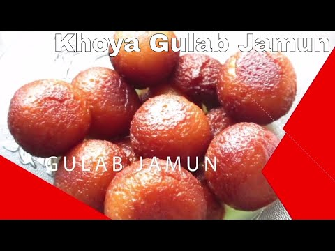 KHOYA GULAB JAMUN | खोया गुलाब जामुन की आसान रेसिपी | Soft and mouth watering Sweets Recipe