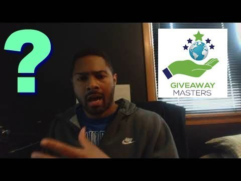 Legit Home Business Opportunity!! Is Giveaway Masters Worth It?...
