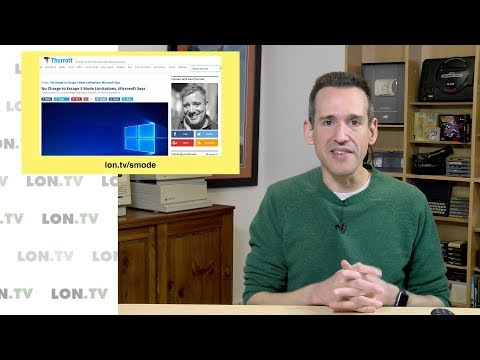 Changes Coming for Windows 10 S