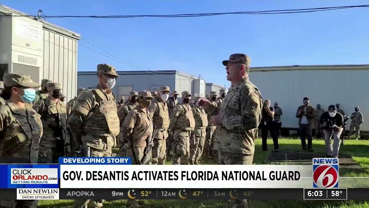 Gov. DeSantis activates Florida National Guard