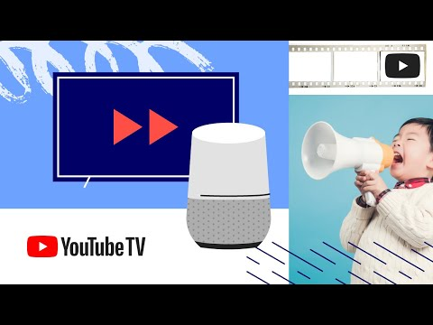 Use your Google Home to control YouTube TV