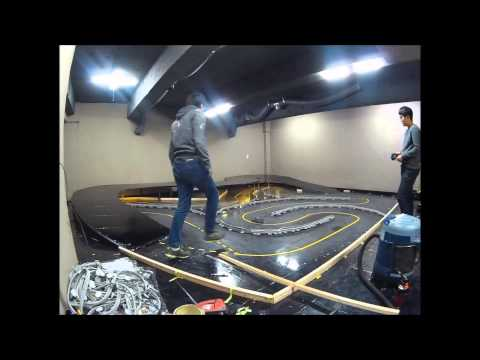 RC drift track build part2 & test run