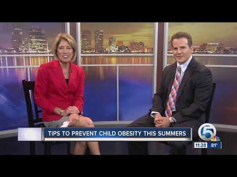 Tips to prevent child obesity this summer
