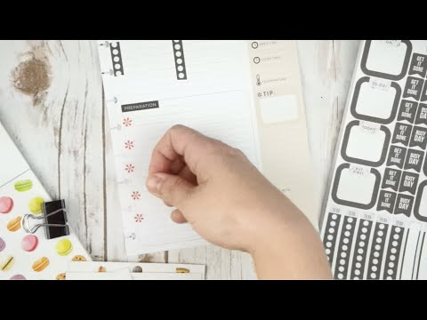 RECIPE PLANNER DECORATE WITH ME | CLASSIC HAPPY PLANNER | RECIPE PANNER SET UP AND WALK THROUGH