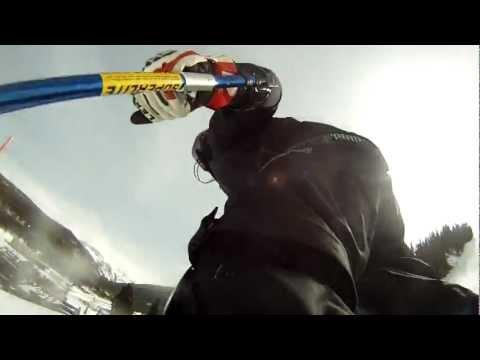 Slalom. Through the Eyes of a Shinguard.