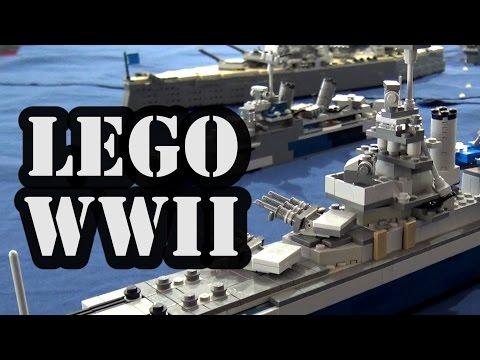 LEGO WWII Navy Battle Japan America
