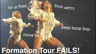 Formation Tour Mistakes & Mishaps