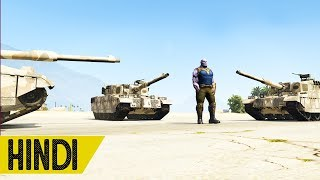 Thanos Vs Military Base   GTA 5