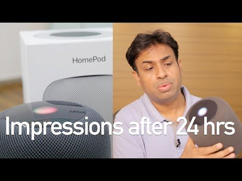 Apple HomePod 24hrs Impressions Based On It's Usage in India