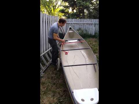 Easy Canoe Dolly / Trailer DIY