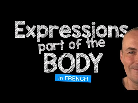 French expressions with body parts