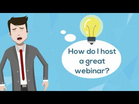 How To Host a Great Webinar