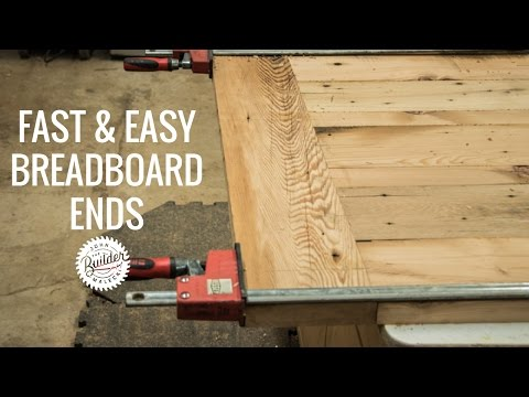 Create Woodworking Breadboard Ends Quick And Easy
