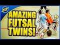 Amazing Futsal Twins Ultimate Skills Falcaoneymarronaldorica