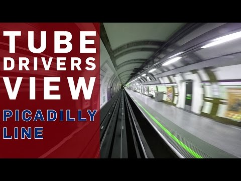 Tube Driver's View (Piccadilly Line) - BBC Britain - BBC Brit