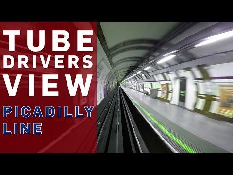 Tube Driver's View (Piccadilly Line) - BBC Britain - BBC Brit