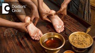 Ayurvedic treatment for heel pain - Dr. Priya Jain