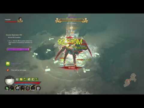 Diablo 3 Console XB1 [Legit, No Mods] Greater Rift 102 Finish, gear+setup in clip