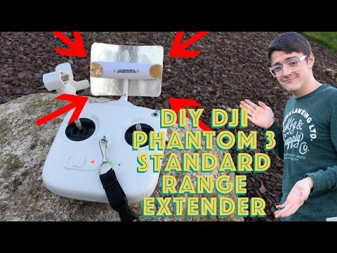 DIY DJI Phantom 3 Standard RANGE EXTENDER!