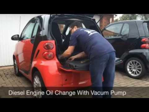 Smart Car Diesel Engine Oil Change