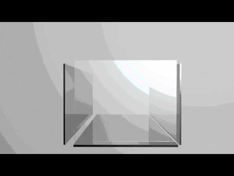 Making a glass aquarium - The correct method
