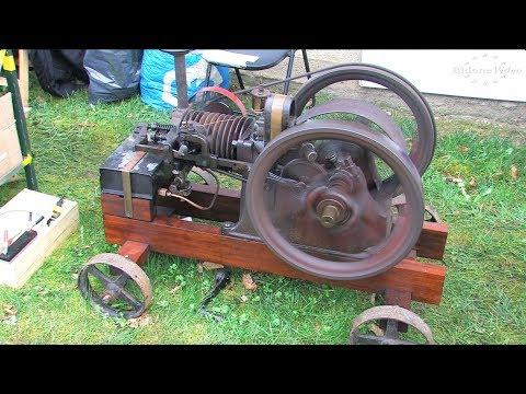 Stationärmotorentreffen Groschwitz 4-6 Stationary Engine Rally