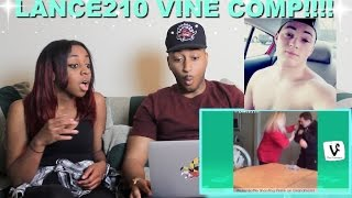Couple Reacts : Top 100 Lance210 Vines Compilation Reaction!!!