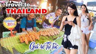 DU LỊCH THÁI LAN GIÁ RẺ TỰ TÚC | Kinh nghiệm cầm 5 triệu ăn chơi Bangkok và Pattaya