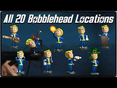 ultimate fallout 4 care package unboxing featuring bobbleheads